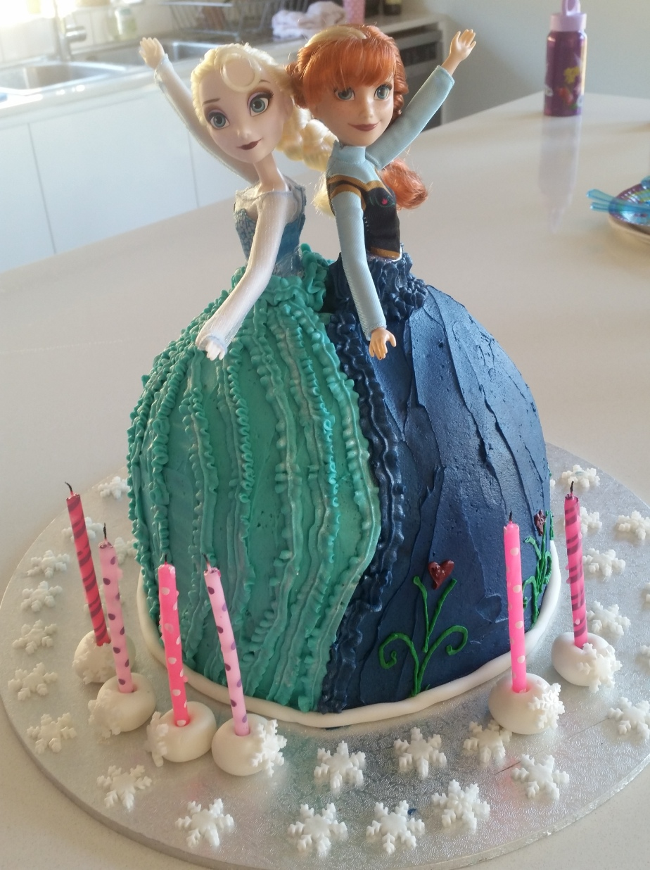 A Frozen themed Birthday.